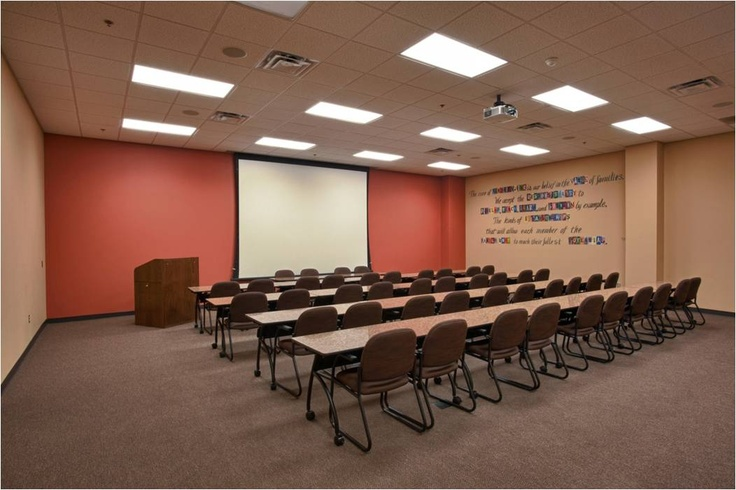 This is a presentation room at Families, Inc. ::: Jonesboro, AR ::: http://www.facebook.com/cssarchitecture