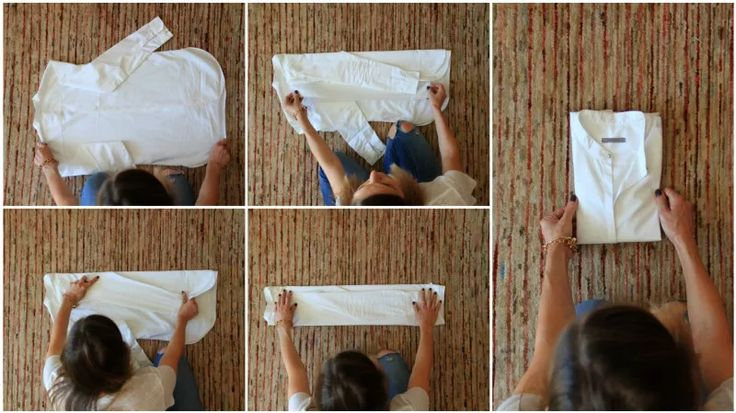 How to fold your clothes effectively when packing