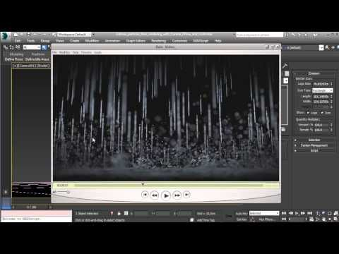 Rain rendering with Corona, PFlow and Frost - Introduction - YouTube