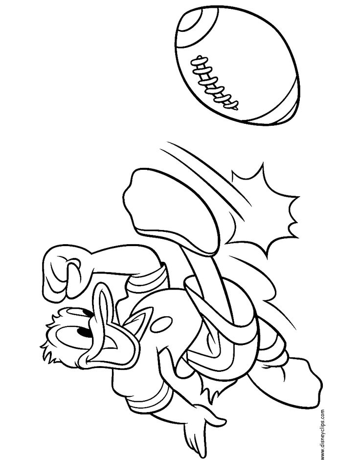 Donald And Daisy Duck Printable Coloring Pages