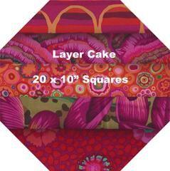 "RED #1 - Layer Cake = 20 Squares 10"" x 10"" – TUPPY'S AUSSIE FABRICS"