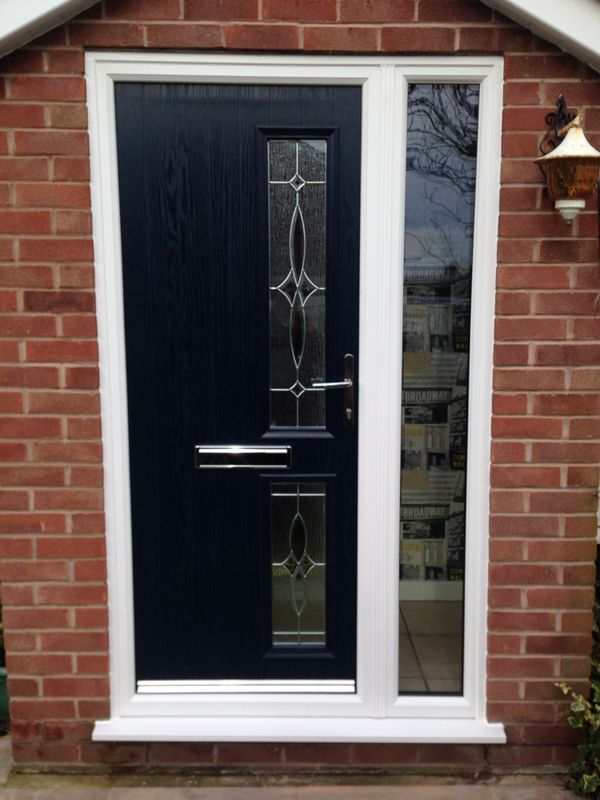 Pretty Design To This Composite Door, Maybe Design Your Own On Our Website.