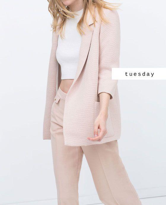#zaradaily #tuesday #woman #blazer