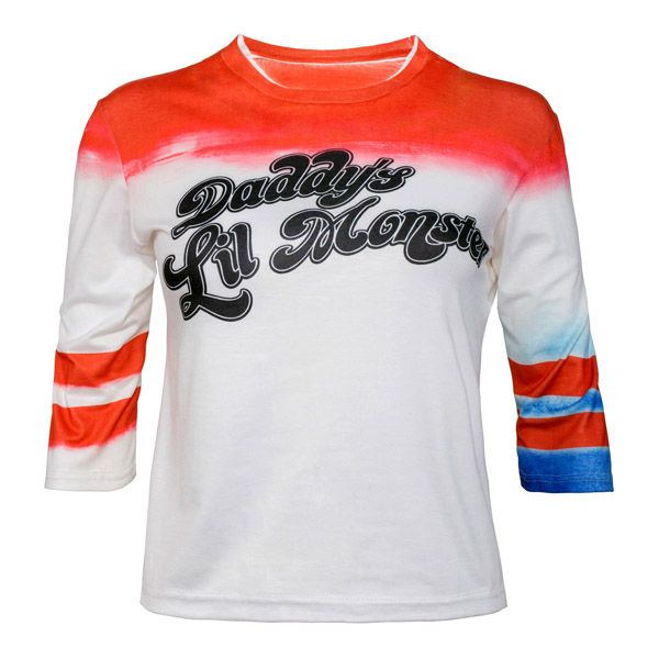 Harley Quinn Daddys Lil Monster Official Replica Shirt