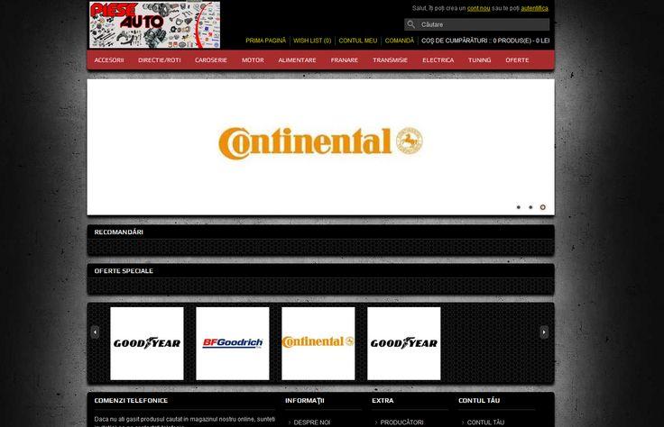 Magazin online piese auto pentru orice marca si model.