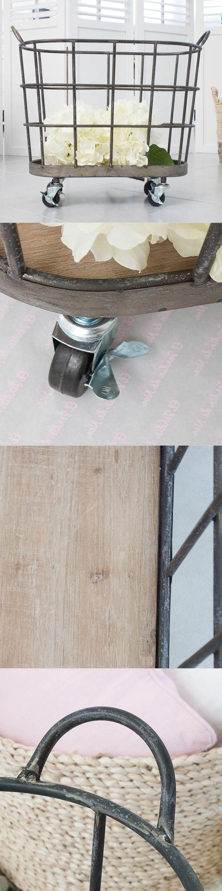cestas metálicas - cestas decorativas