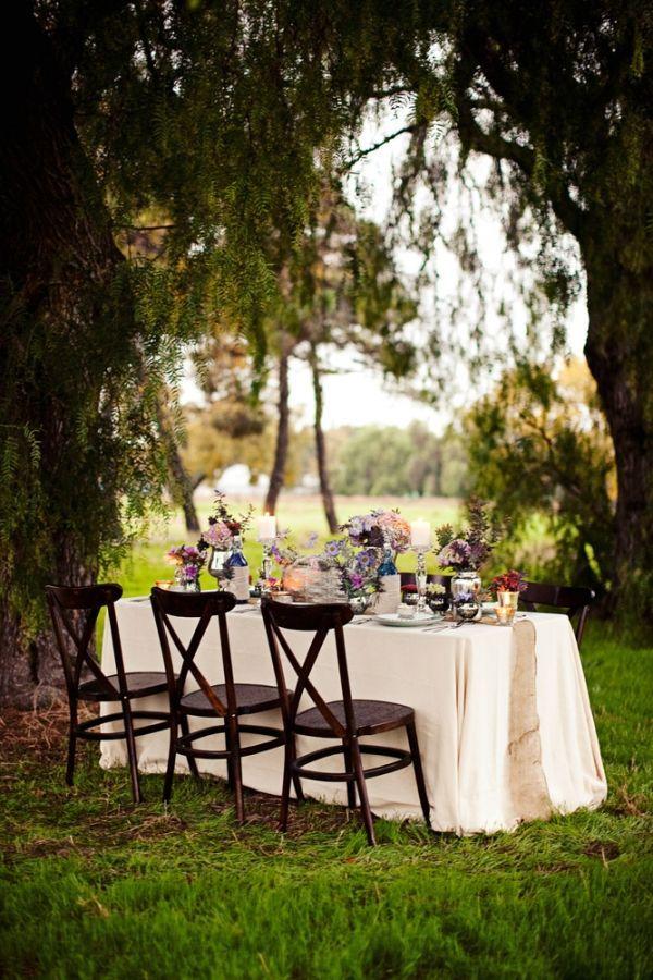 Wedding reception #outdoorwedding