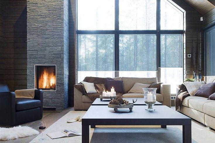Lapponia House 330 Levi Spirit hirsitalo on terve hengittävä koti. Lämpöhirsi tai lamellihirsi. Osatoimituksena tai muuttovalmiina.