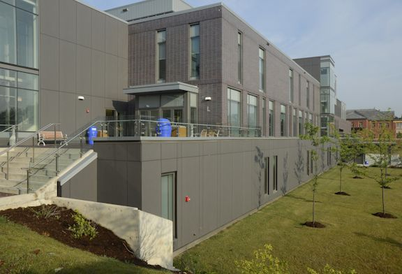 Project: Humber College Location: Toronto, ON Product: Equitone Architect: HOK