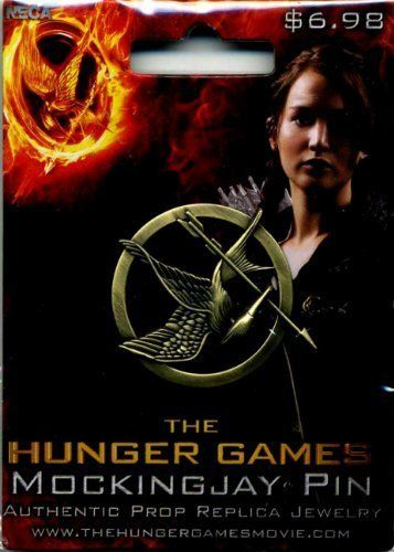 The Hunger Games Mockingjay Pin $2.44 #TheHungerGames OMG CAN I HAVE IT??!