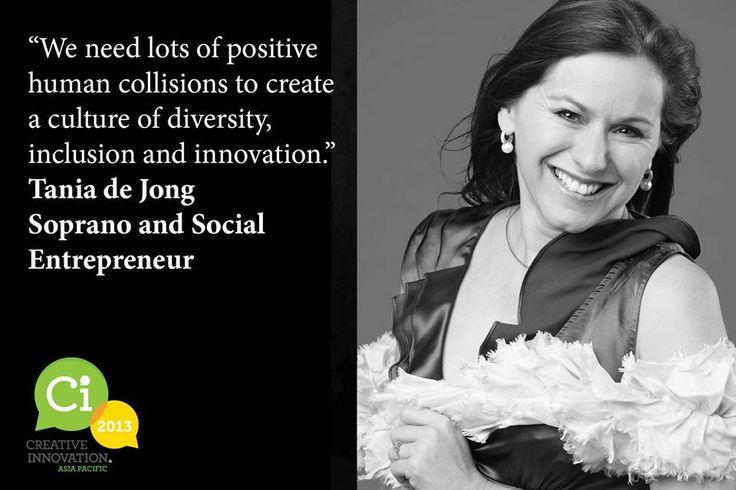 Brainwave #7 Tania de Jong AM, Social Entrepreneur, on importance of transformation through diversity and social inclusion.