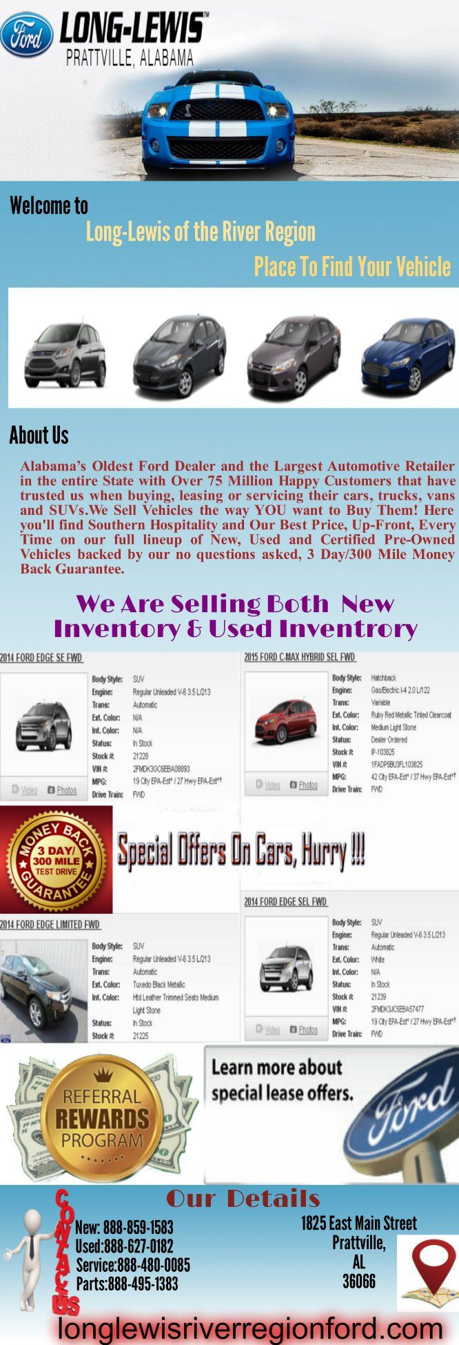 Long lewis ford cars for sale