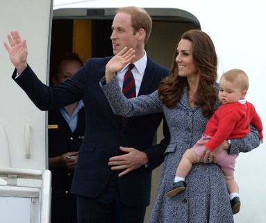 Prince William, Kate Middleton and Prince George bid adieu to Australia as they departed the country via Canberra Friday.