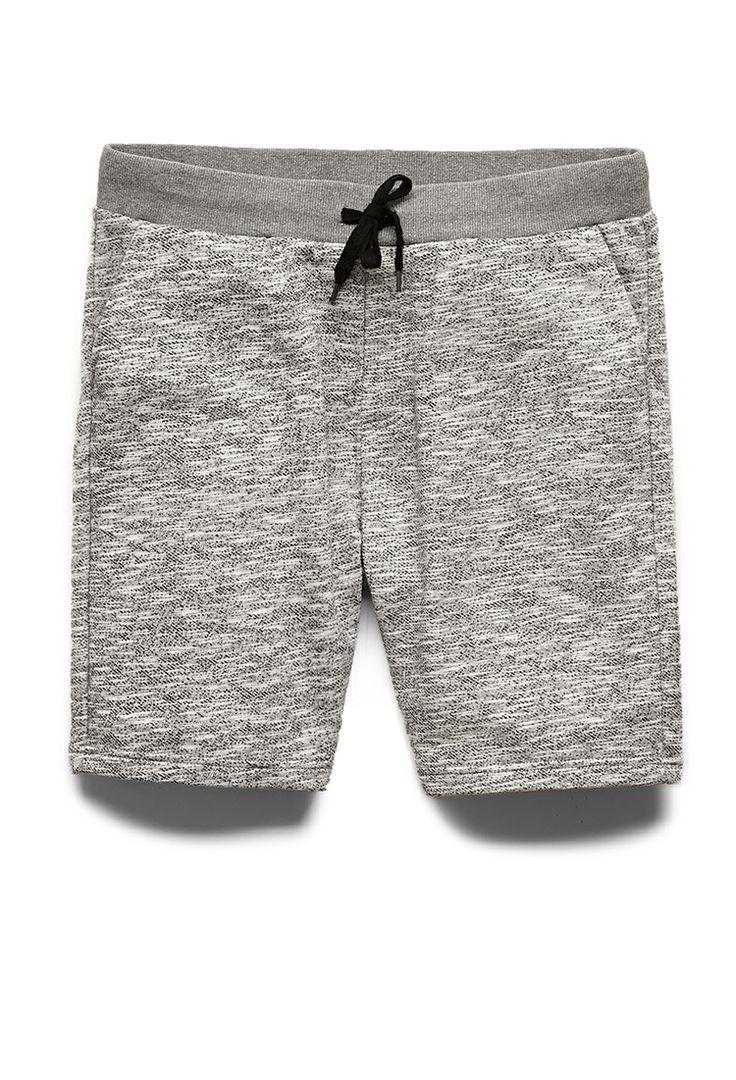 Marled Knit Shorts   21 MEN #21Men
