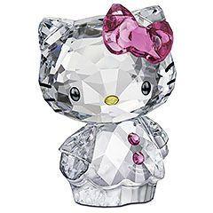 Figurine Hello Kitty #Cristal #Swarovski