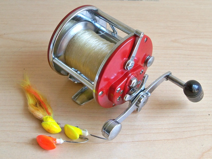 Vintage penn 209 level wind reel usa made fishing reel for Fishing reels made in usa