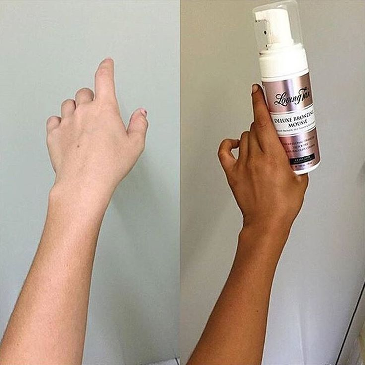 "Pinterest: @calliebeauty Loving Tan Official ""Deluxe Bronzing Mousse in Ultra Dark"""
