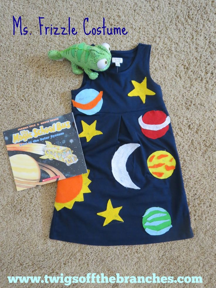 Twigs Off the Branches: DIY Ms. Frizzle Costume                                                                                                                                                      More