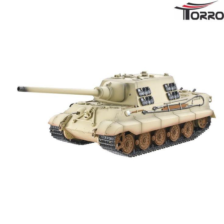Jagdtiger Pro-Edition BB Ørken - RC Kampvogn