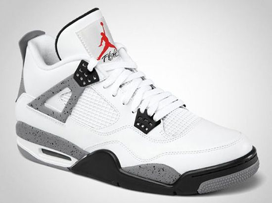 Air Jordan IV 'White/Cement' - Official Look Coming to us this very month,  Jordan Brand has dropped a official look at the upcoming 2012 retro of the  Air ...