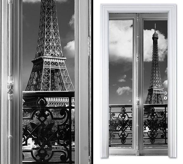Door sticker PARIS VIEW by Sticky!!!