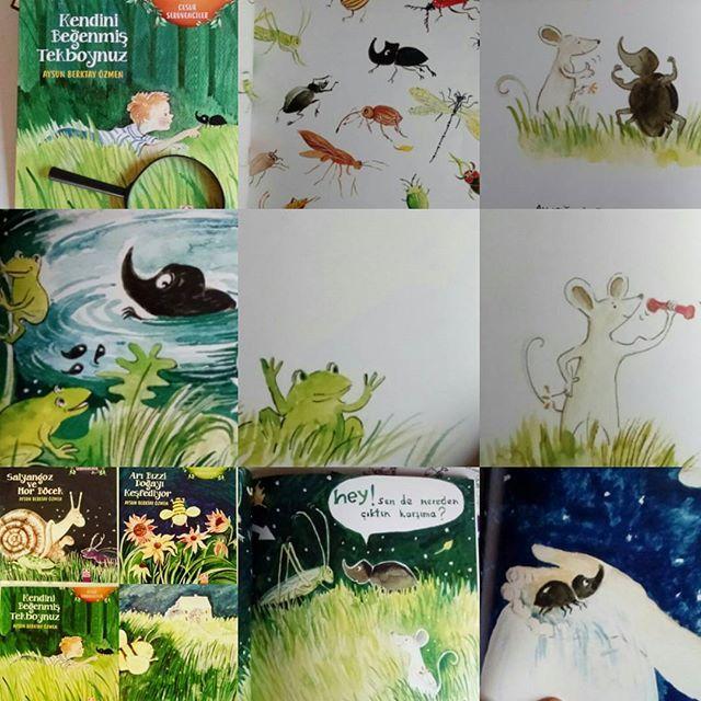 Cesur Serüvenciler, doğanın görünmeyen,daha doğrusu pek de göze çarpmayan kahramanları. İsmini duyduğumuzda büyük küçük pek çoğumuzu ürküten hakları yenmiş cesur savaşçıları.... Kendini beğenmiş Tekboynuz @aysunberktayozmen #kendinibeğenmiştekboynuz #cesurserüvenciler #altınkitaplar #resimliçocukkitabı #childrenbook #illustration #animalstory #naturebook
