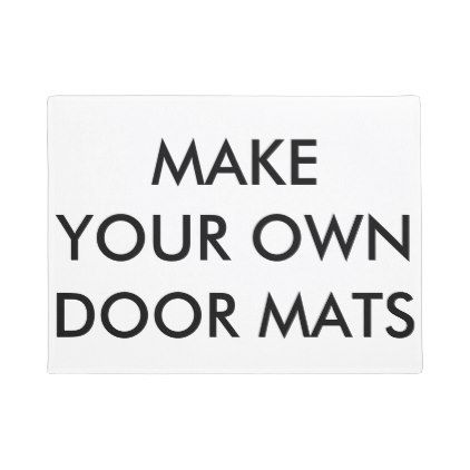 Custom Personalized Small Door Mat Blank Template - create your own gifts personalize cyo custom
