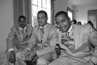 Groom: Ryan and Bestmen Photographer: GS - Freelance Photography - Weddings