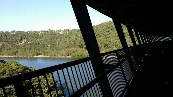 Woronora Bridge in Sutherland, NSW