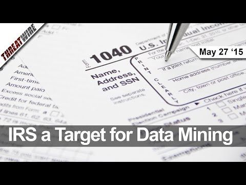 Data Mining the IRS Website, Adult Friend Finder Hacked, and NSA Collections on Hold - Threat Wire - YouTube