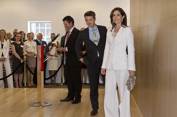 Crown Prince Frederik & Princess Mary #denmarkhouse 2011 - Loved by @denmarkhouse