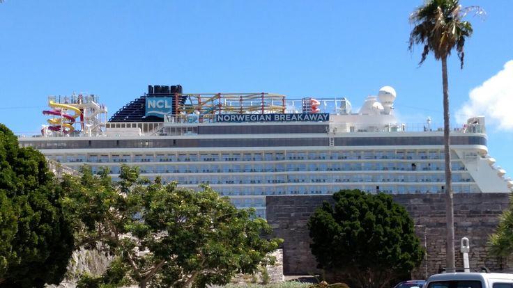 Norwegian Breakaway, Dockyard Bermuda