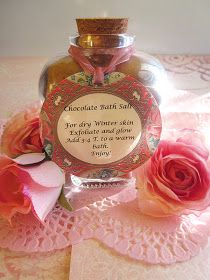 Homespun With Love: Chocolate Lovers Bath Salt