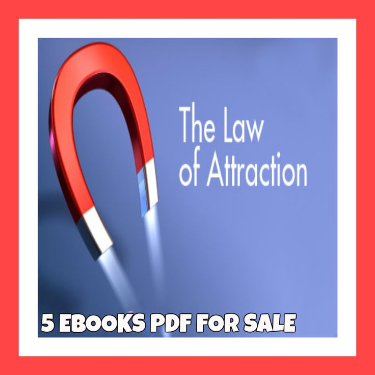 LAW OF ATTRACTION 5EBOOKS PDF FREE SHIPPING Rich Wealthy Successful Relationship
