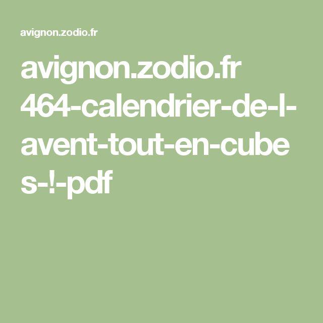 avignon.zodio.fr 464-calendrier-de-l-avent-tout-en-cubes-!-pdf