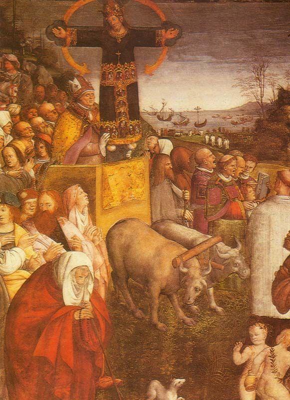 Amico Aspertini, Il trasporto del Volto Santo, Lucca, Basilica di San Frediano, 1509 circa