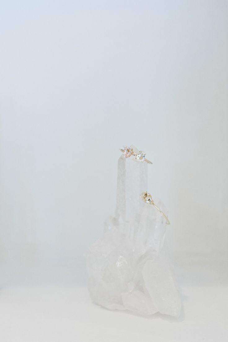 Natalie Marie Jewellery. Rings via The Land. Crystal. Semi Precious. Custom made.