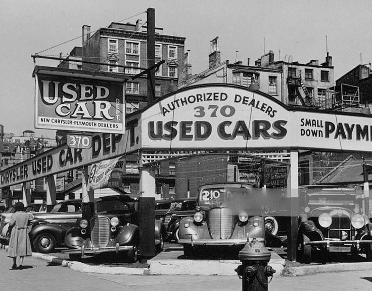 370 Seventh Ave. 1940 Used car lots, Used cars, Best