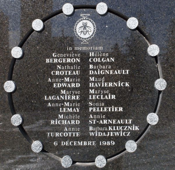 Open thread to honor the victims of the École Polytechnique massacre