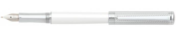 Sheaffer Intensity White Spiral Fountain Pen - Sheaffer