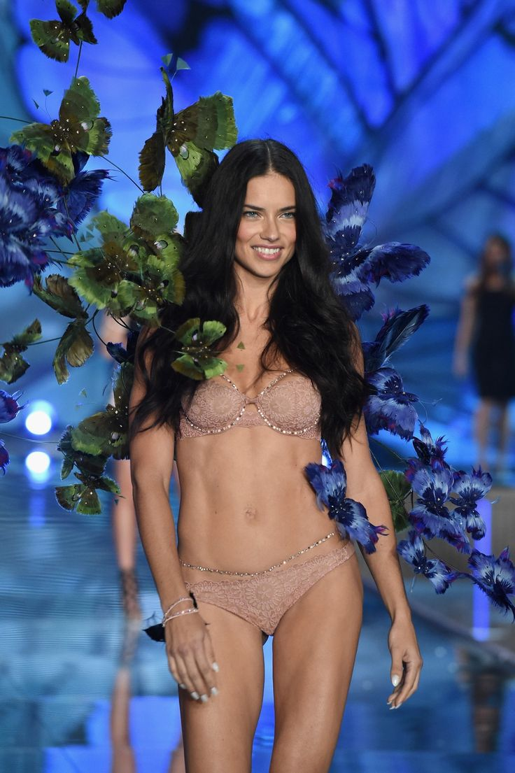 Adriana Lima walks the runway at the 20th annual Victoria's Secret fashion show.