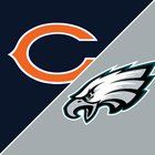awesome The Eagles let up only 6 yards rushing today, 12 of those where by the Bears quarterback, no that is not a typo.