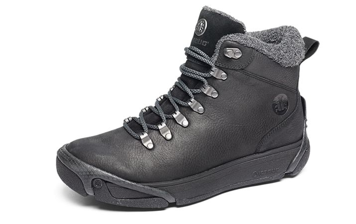 Mid cut sneaker that shields your feet from winter in a good-looking way. Water…