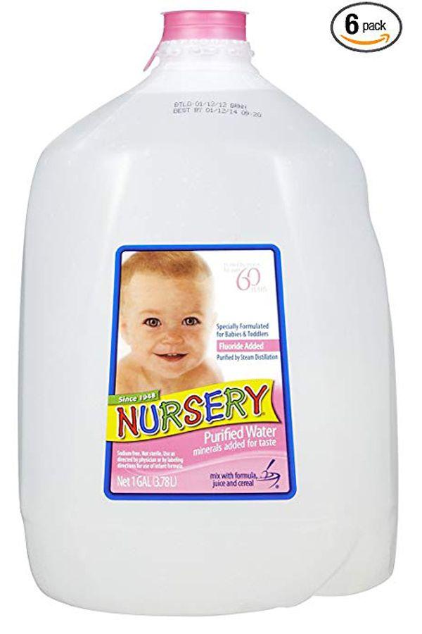 Nursery Nursery Purified Water 1 Gal Pack Of 6 Nursery Water Drinking Water Water Purifier