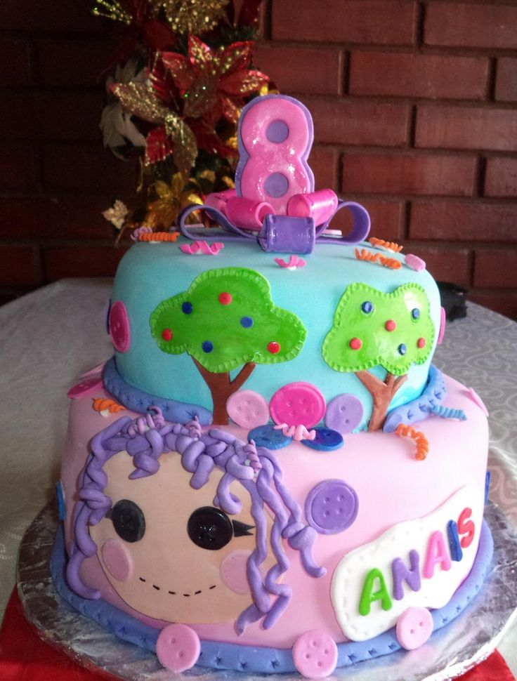 #Lalaloopsy #cake #tortasinfantiles by @VolovanProducto  #puq