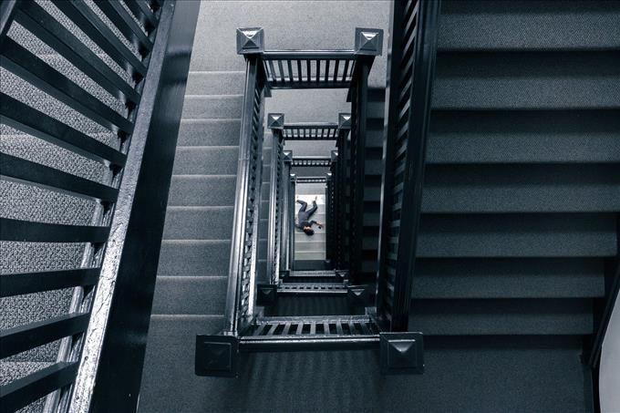 staircase murder concept