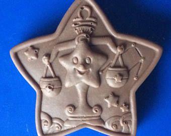 Set von 3-Waage Praline - SUNSIGN Süßigkeiten - Sternzeichen Horoskop Partei zugunsten