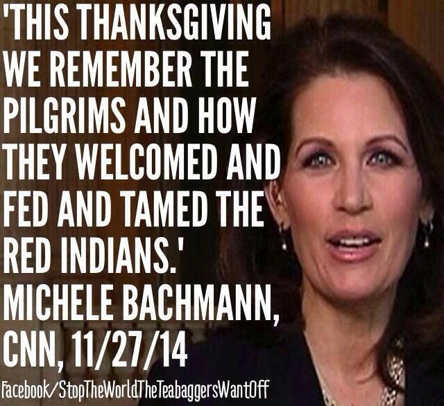 She has one of the highest IQ's of all the teabaggers. Hope she doesn't forget to breathe!