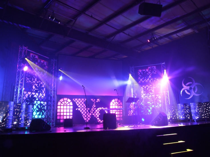 toxic industry church stage design ideas - Stage Design Ideas