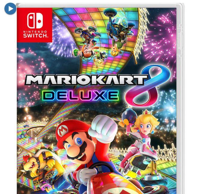 Mario Kart 8 Deluxe Edition Nintendo Switch Video Game free shipping | Mario kart. Mario kart 8. Switch video